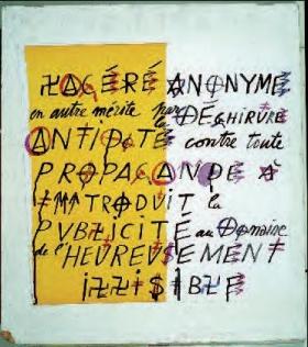 alphabet socio-politique, Villeglé