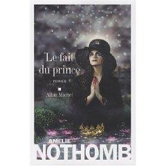 le fait du prince, Nothomb