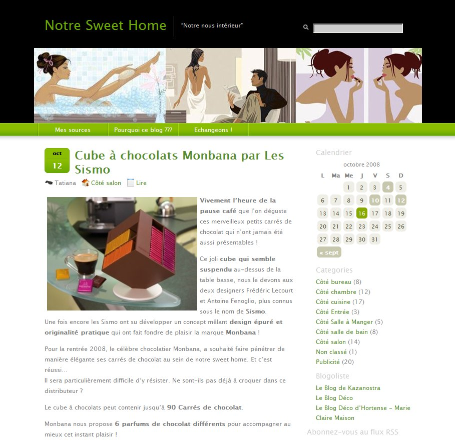 Notre Sweet Home Blog