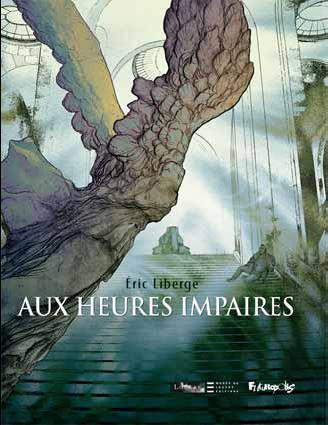 Eric Liberge Aux heures impaires Couverture © musée du Louvre Éditions / Futuropolis