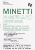 Affiche de Minetti à la Colline