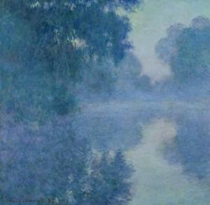 « Bras de Seine près de Giverny, soleil levant (1897) »