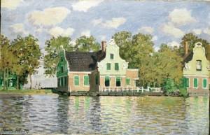 « Maisons au bord de la Zaan, à Zaandam (1871) »