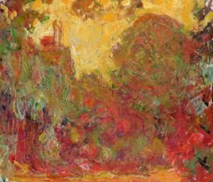 « La maison vue du jardin aux roses (1922-1924) »