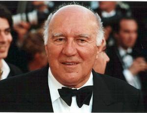 Michel Piccoli à Cannes en 2000