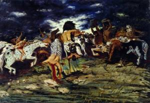 combat_des_centaures_chirico