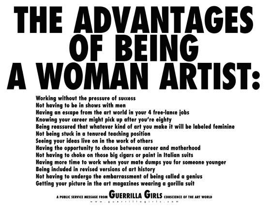 c2ab-les-avantages-de28099etre-une-femme-artiste-c2bb-des-guerrilla-girls