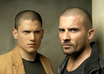 Prison Break - Michael Scofield et Lincoln Burrows (Wentworth Miller et Dominic Purcell)