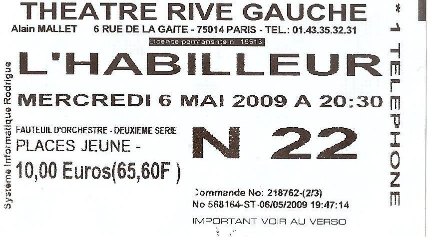 place-n22 L'Habilleur