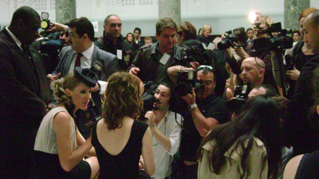 Mélanie Laurent au défilé Elie Saad