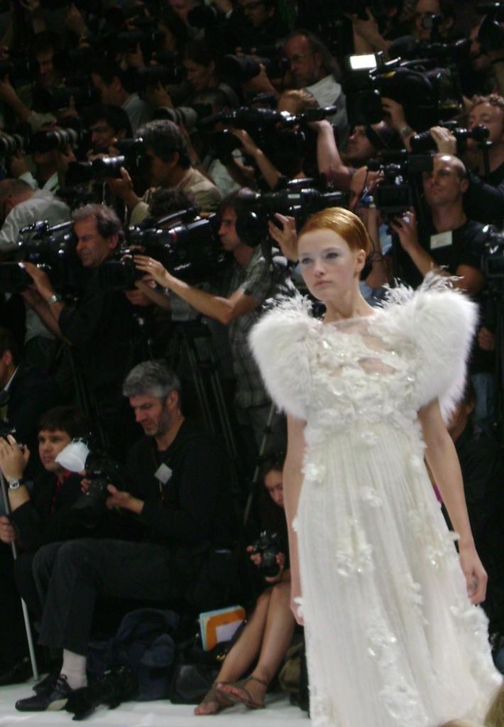 Haute couture défilé Elie Saab, automne hiver 2009 / 2010