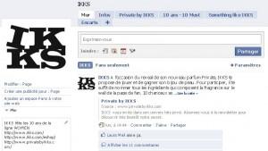 facebook page ikks