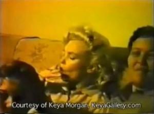 Marilyn Monroe dans une vidéo amateur à la fin des années 50