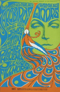 Art Nouveau Affiche The Doors