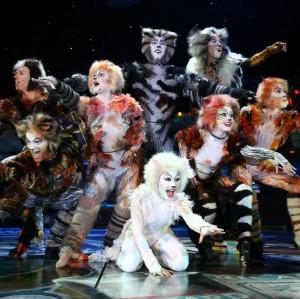 """La troupe de """"Cats"""""""