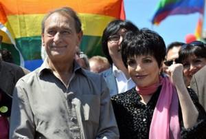 Liza Minelli et Bertrand Delanoë pour les 40 ans des émeutes de Stonewall