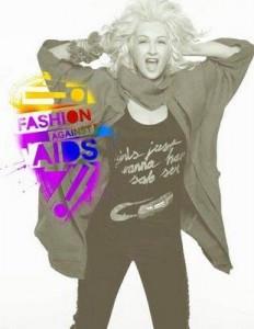 Cindy Lauper s'engage contre le sida