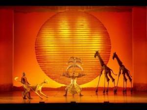 """""""Le Roi lion"""" au Théâtre Mogador"""