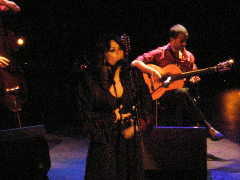 Yasmin Levy, au festival Au fil des Voix, 6 février 2010, Paris