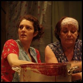 Sabrina Baldassarra et Chantal Trichet
