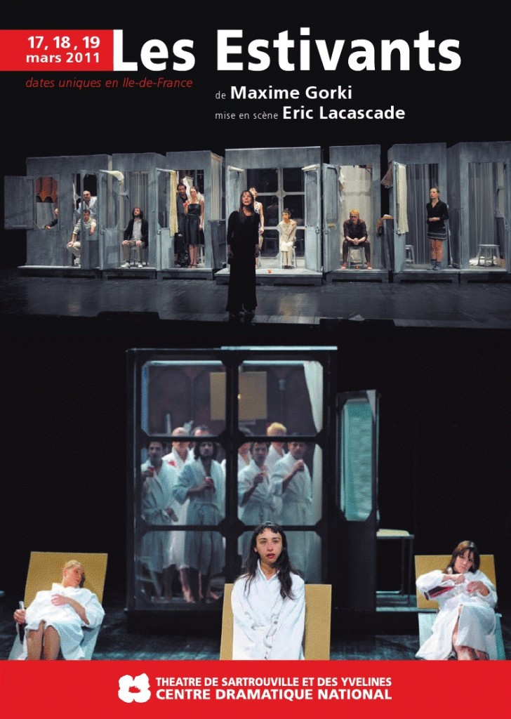 La troupe d'Eric Lacascade en villégiature dans Gorki