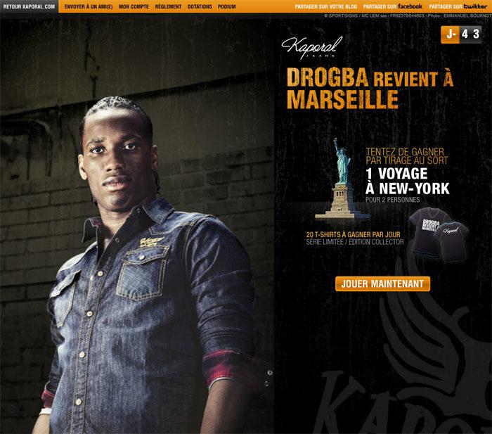 Didier Drogba revient à Marseille