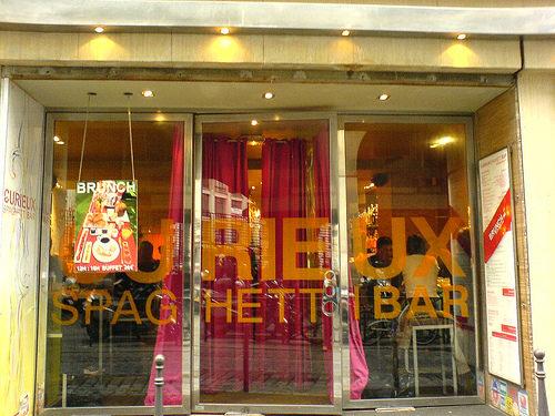 Soyez Curieux, découvrez le Spaghetti Bar !