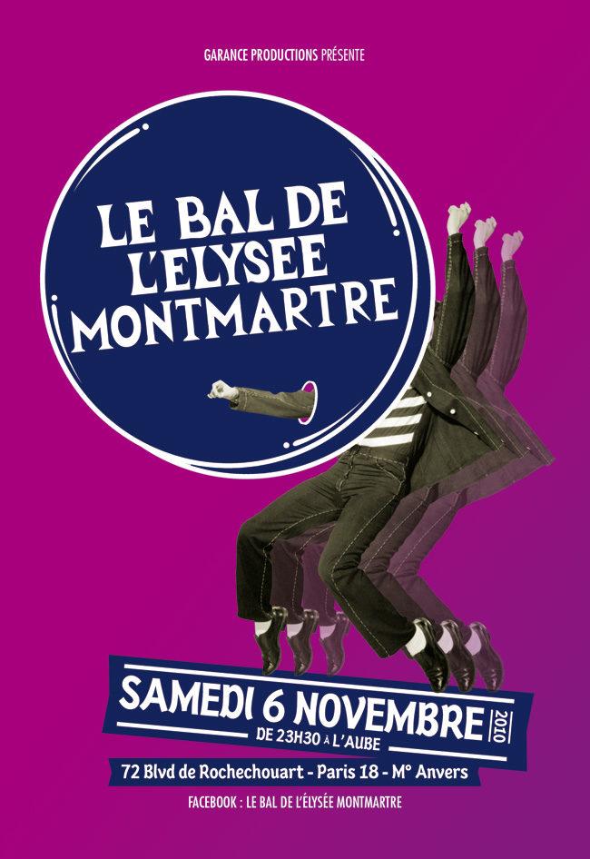 Gagnez 1×2 places pour le Bal de l'Elysée Montmartre le 6 novembre