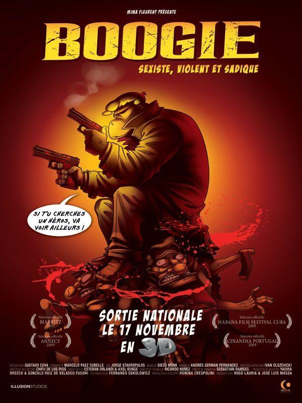 Boogie : une bonne dose de testostérone en 3D!