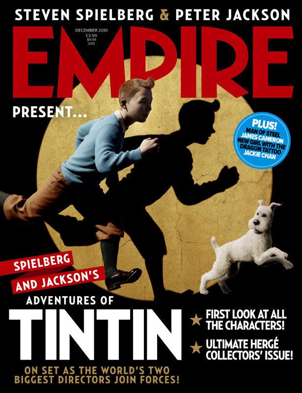 Premières images de Tintin, le nouveau film de Steven Spielberg
