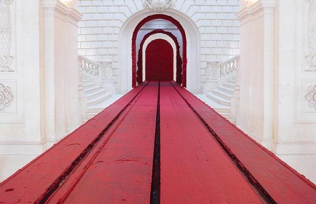 Anish Kapoor matérialisera la couleur pour la Monumenta 2011 au Grand Palais