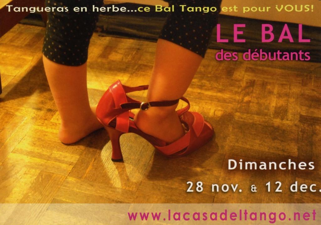 Ça tangue pas mal à Paris, premiers pas dans l'univers Tango