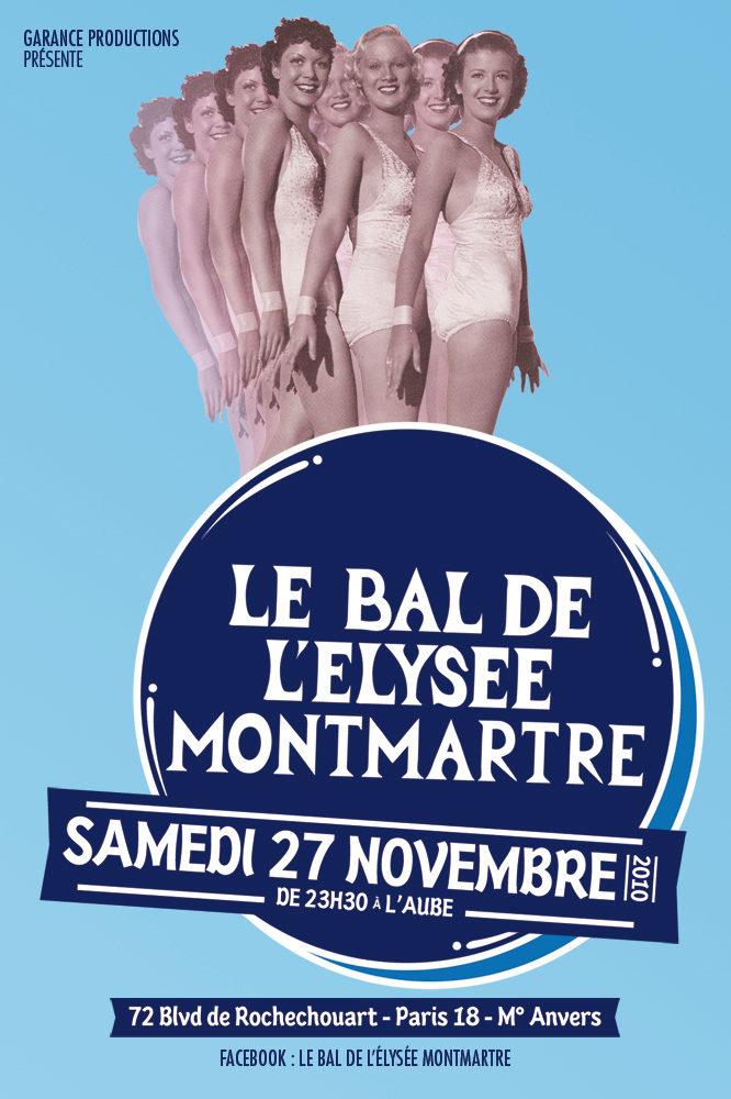 Gagnez votre place pour le Bal de l'Elysée Montmartre le 27 Novembre