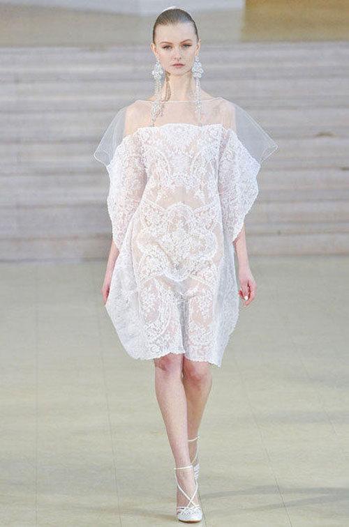Alexis Mabille ouvre le bal de la Fashion Week