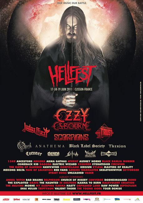 Hellfest 2011 : la programmation complète et définitive !