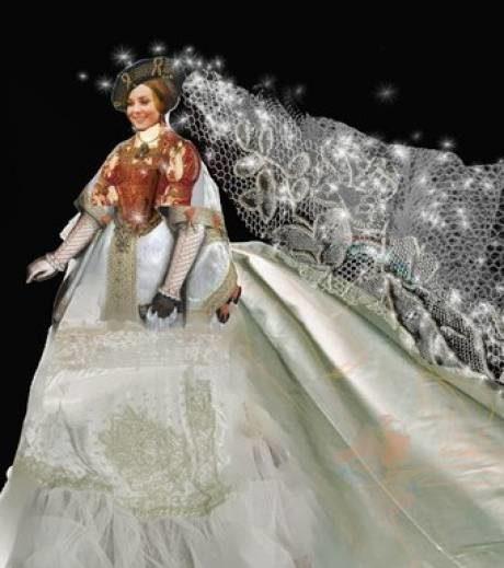 La robe de mariée de Kate Middleton- Croquis des créateurs
