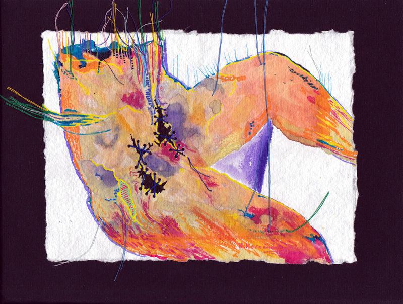 «Marchant sur des nuages»: rencontre de la poésie et de la peinture au Foyer Edwige Feuillère