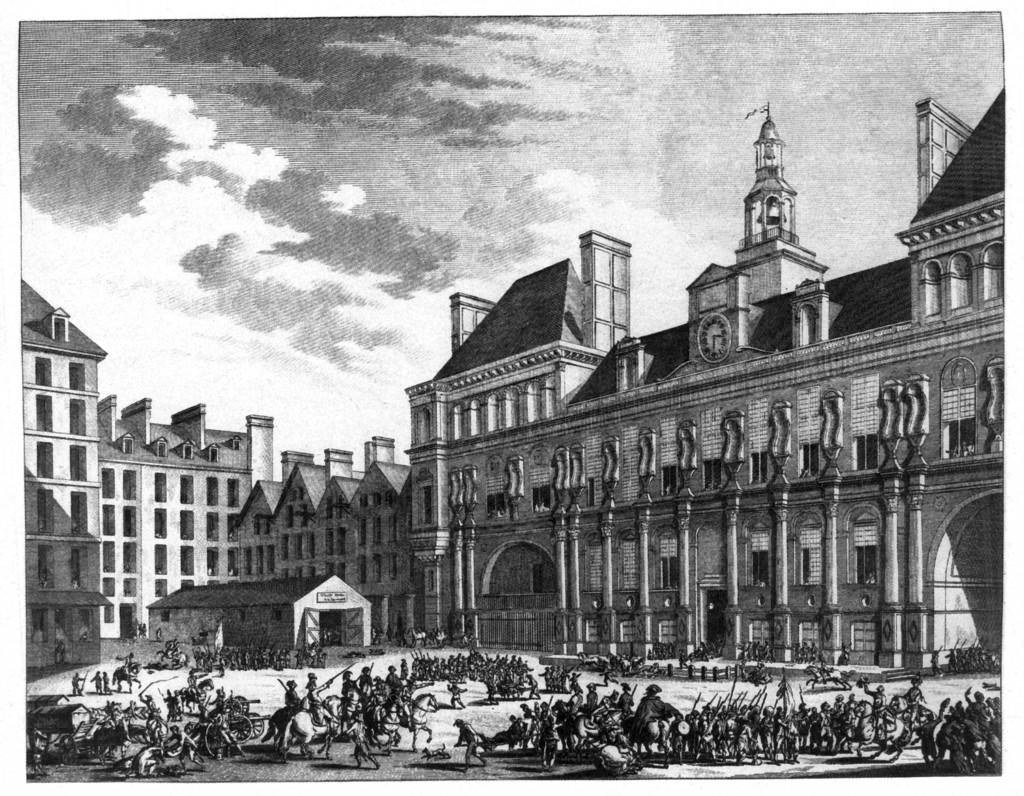 L'Hotel de Ville de Paris accueille une exposition sur la Commune de 1871