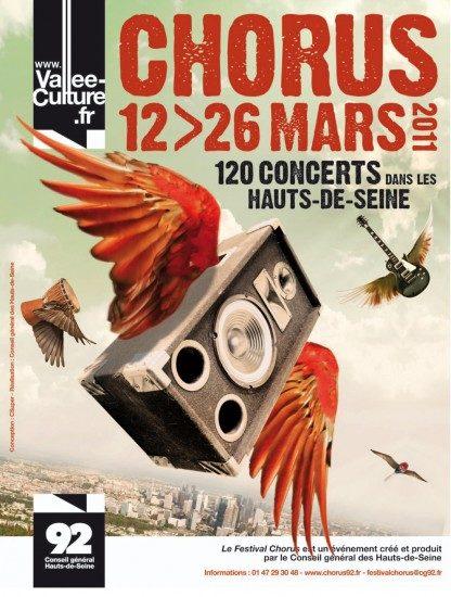 Festival Chorus du 12 au 26 mars : Demandez le Programme !