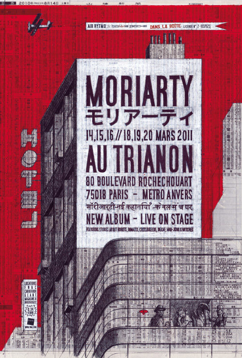 Moriarty revient avec dans ses valises un album et une tournée