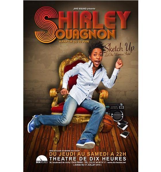 Shirley Souagnon nous offre une barre de rire