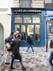 Inauguration du Café des Psaumes de la rue des Rosiers le 10 février