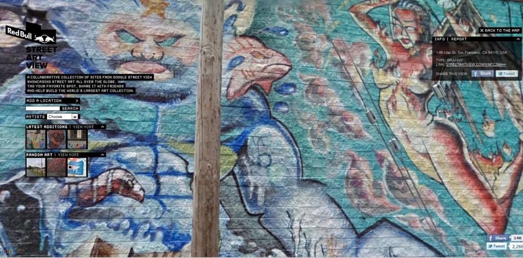 Google se lance dans le street art