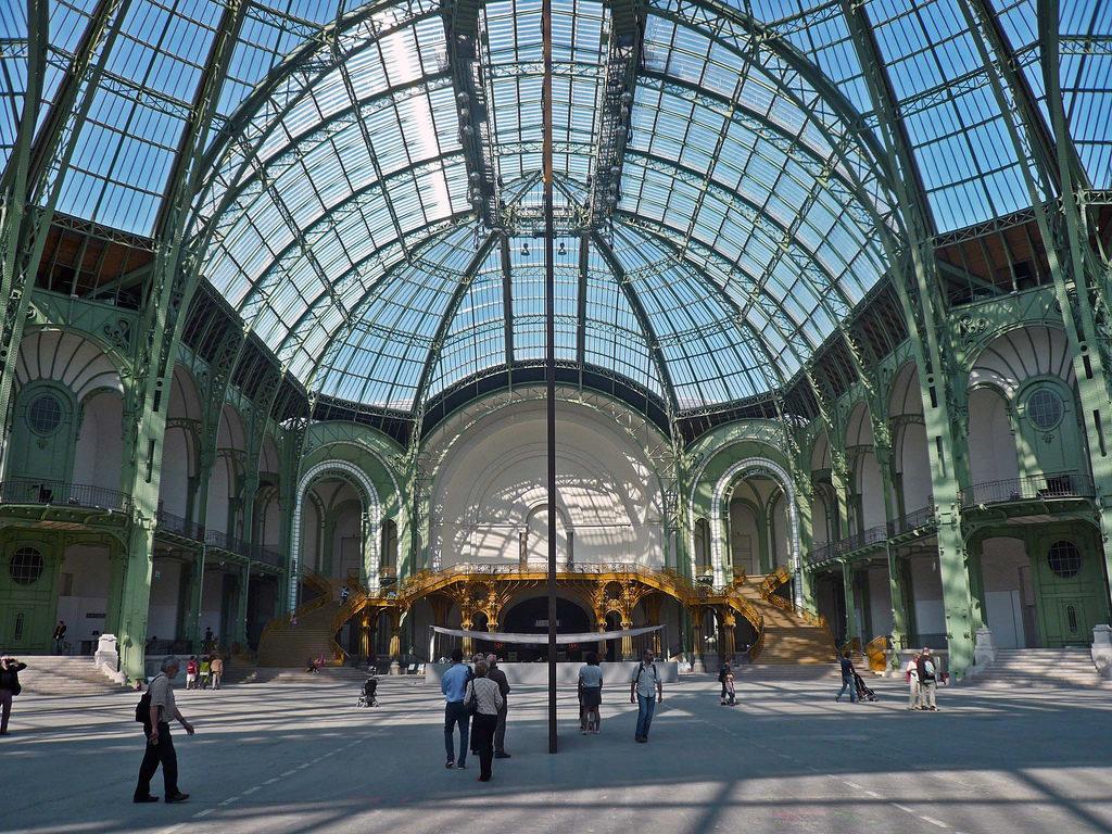 Les Grands travaux du Grand Palais