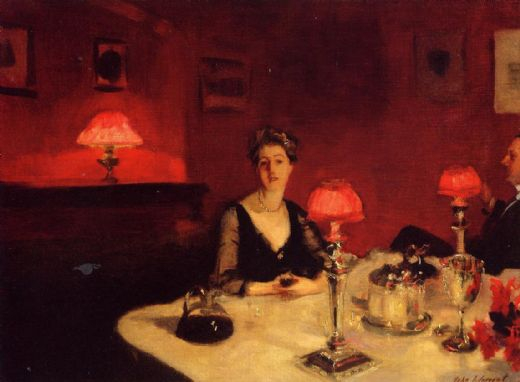 john-singer-sargent-a-dinner-table-at-night-77186