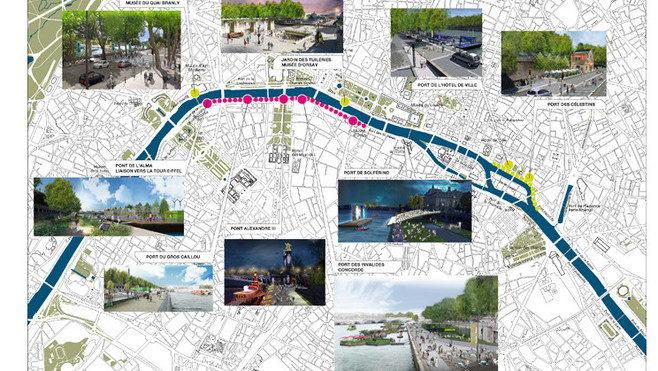 L'aménagement des bords de Seine confirme un allongement des temps de parcours