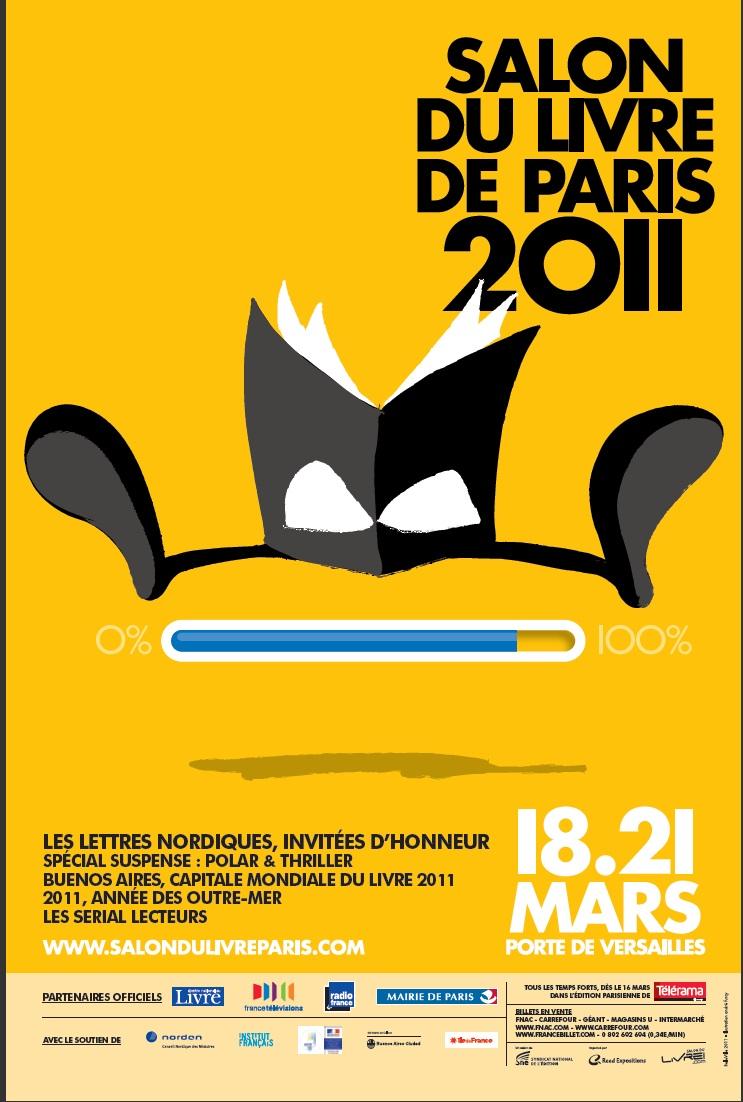 Le salon du livre 2011 une dition internationale for Salon du livre france