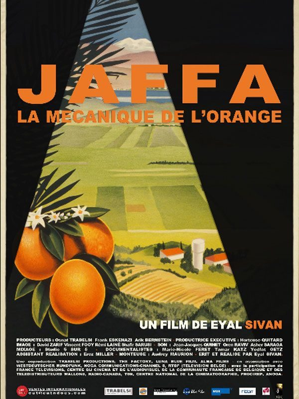 Dvd : Jaffa, la mécanique de l'orange, d'Eyal Sivan
