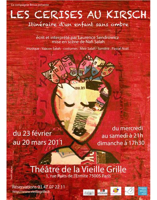 Les cerises au Kirsch, une histoire triste racontée avec joie au théâtre de la Vieille Grille