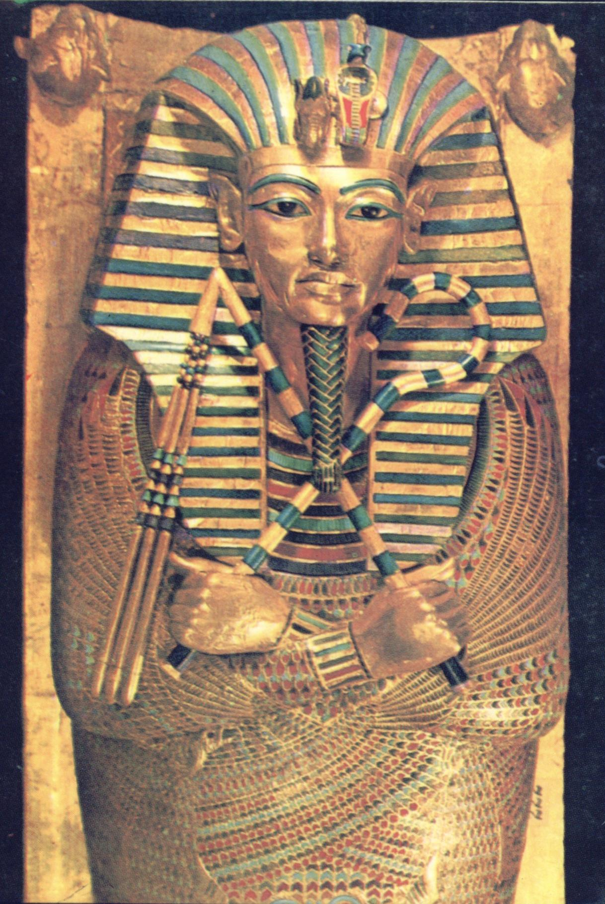 sarcophage toutankhamon